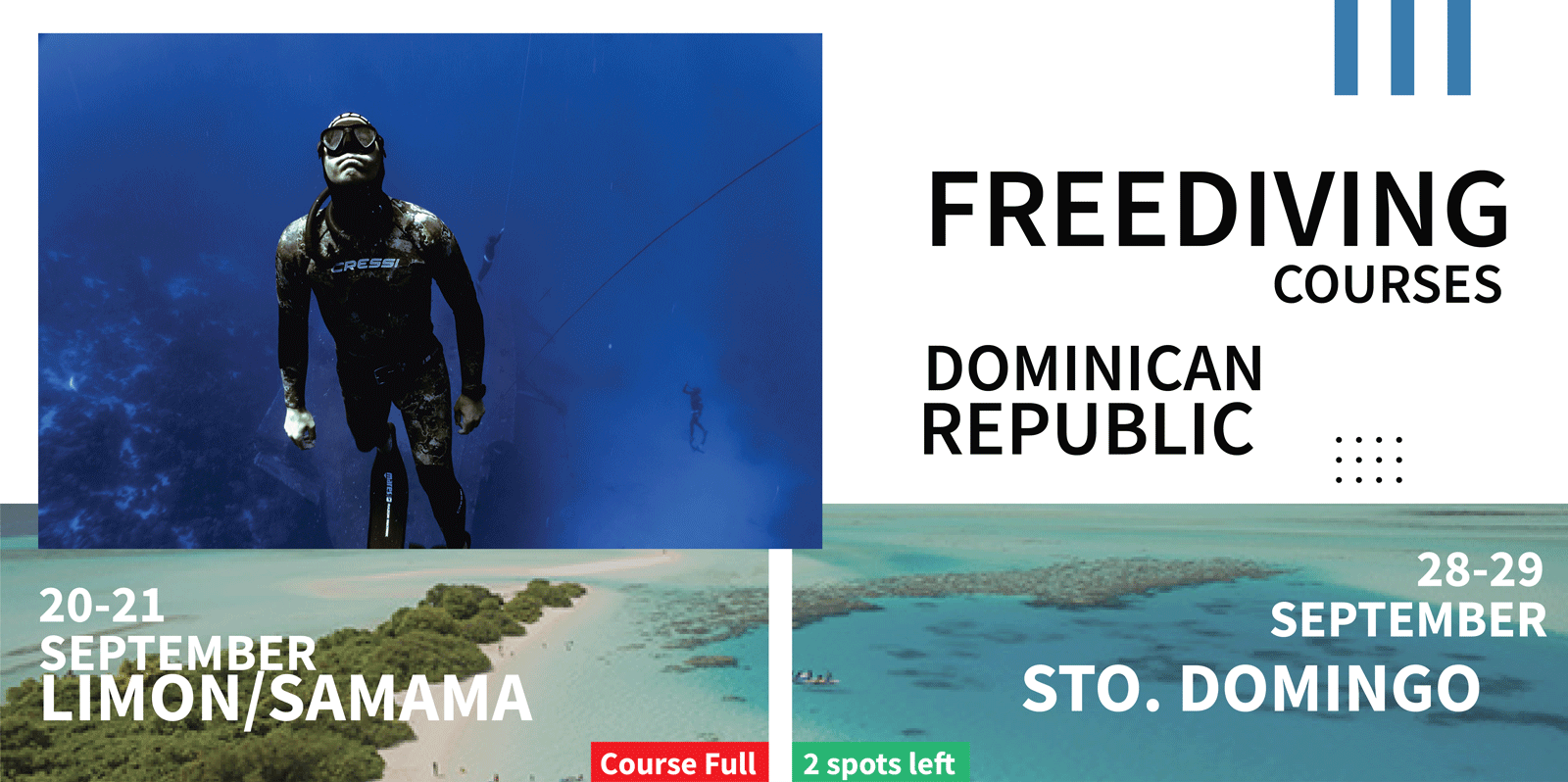 dominican republic freediving course
